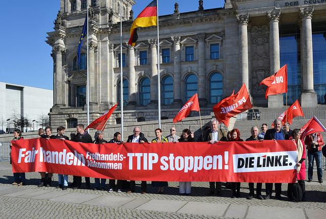 TTIP Demo März 2014