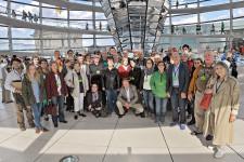 Besuchergruppe in Berlin im August 2014