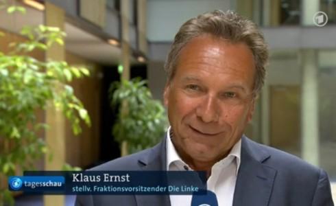 Klaus Ernst im Interview zu CETA bei der Tagesschau