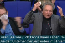 Klaus Ernst im Bundestag mit Zwischenruf zum Infektionsschutzgesetz